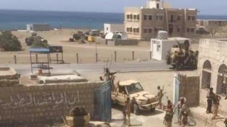 قوات موالية للمجلس الانتقالي في سقطرى