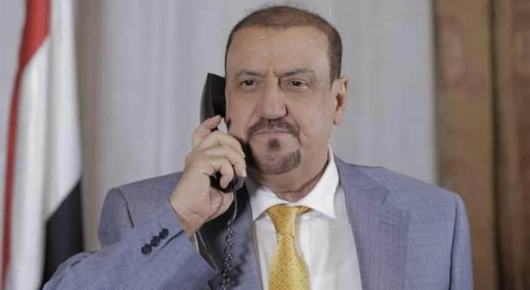 رئيس البرلمان اليمني الشيخ سلطان البركاني
