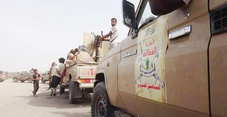 قوات ألوية العمالقة في الساحل الغربي اليمن - الحديدة