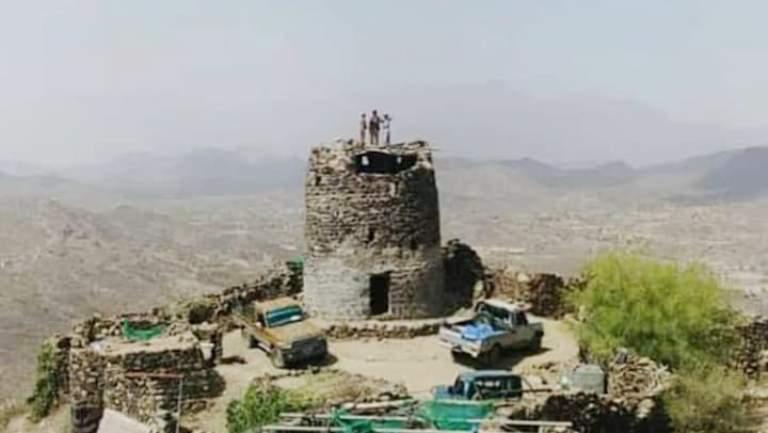 قلعة القوباء في حجور حجة شمالي اليمن
