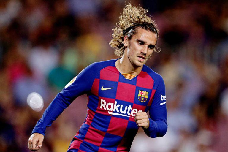 رسمياً.. برشلونة يعلن غياب جريزمان حتى نهاية الموسم