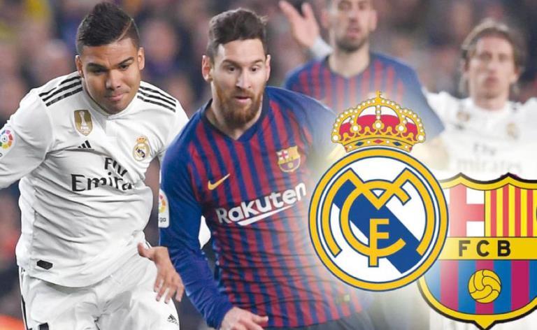 تعرف على فرص ريال مدريد وبرشلونة في الفوز بالدوري الإسباني
