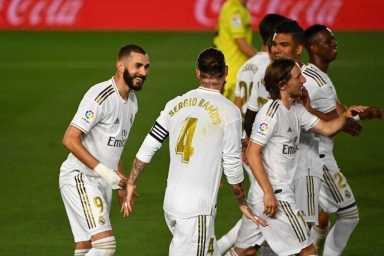 ريال مدريد بطلاً للدوري الإسباني للمرة الـ34 في تاريخه.. فيديو