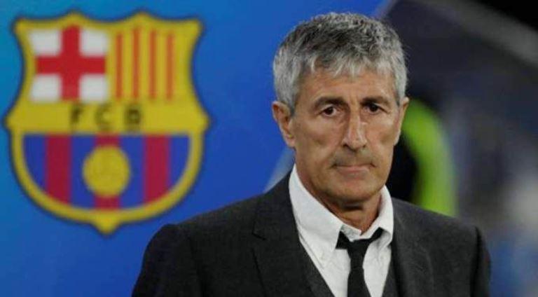 إدارة برشلونة تحسم موقفها بشأن إقالة كيكي سيتين
