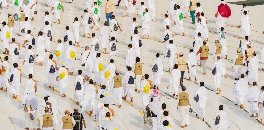 حجاج بيت الله الحرام في مكة المكرمة والصحة السعودية تؤكد ألا كورونا
