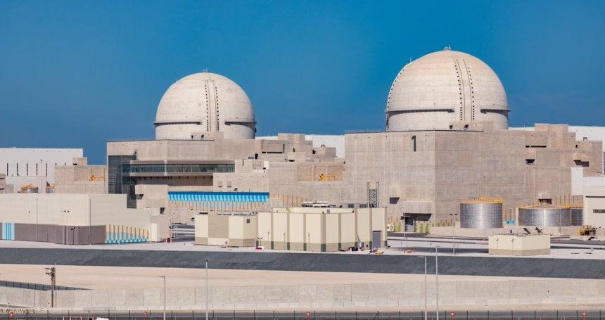 الإمارات تعلن أول مفاعل نووي سلمي عربي ومحمد بن زايد: نقلة نوعية