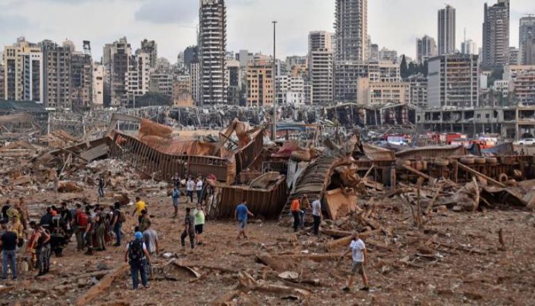 بيروت تتوشح الحزن.. والدمار يشوه وجه لؤلؤة المتوسط (تقرير خالد عليان فيديو)