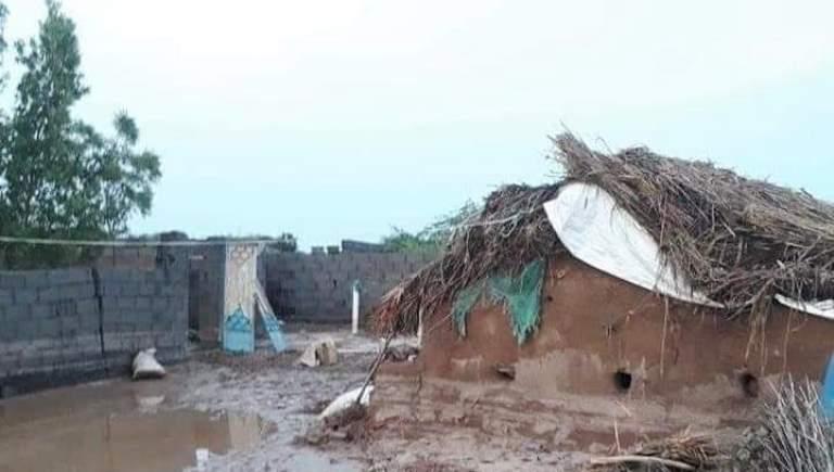 أضرار السيول بعد الأمطار في الحديدة - الساحل الغربي