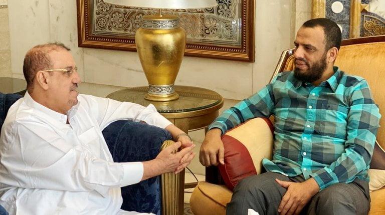 هاني بن بريك يلتقي سلطان البركاني ويعلق: دائماً الحل في الرياض