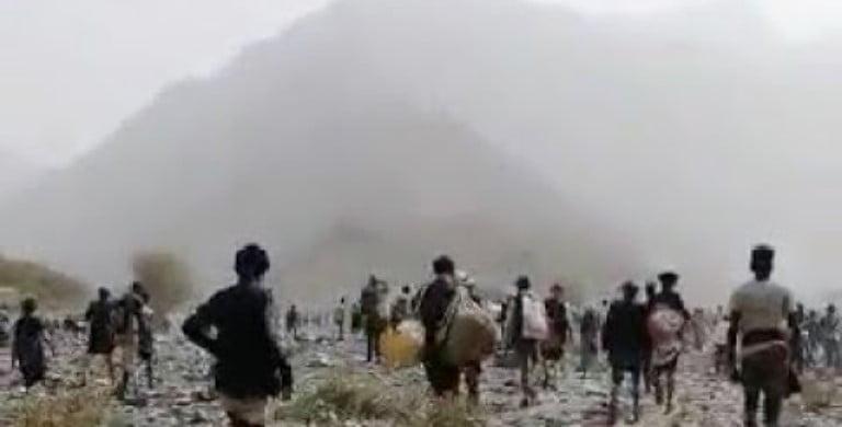 الهجرة الدولية: 900 من المهاجرين تواجدوا بمكان الحريق في صنعاء