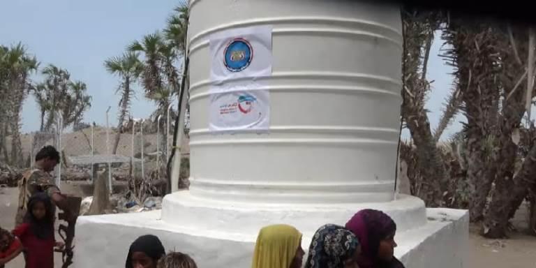 قوات المقاومة الوطنية تسلم السلطة المحلية في الحديدة مشاريع مياه شرب