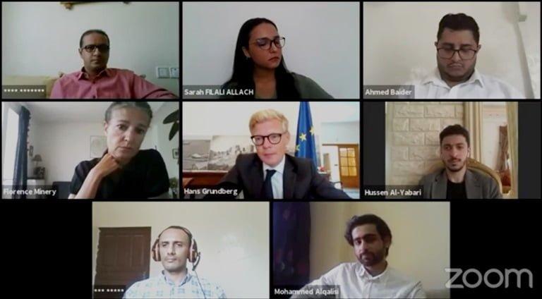 ندوة تدعو إلى تواصل المنظمات والصحفيين في اليمن
