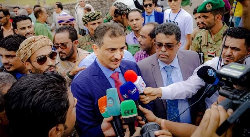 محافظ عدن أحمد حامد لملس