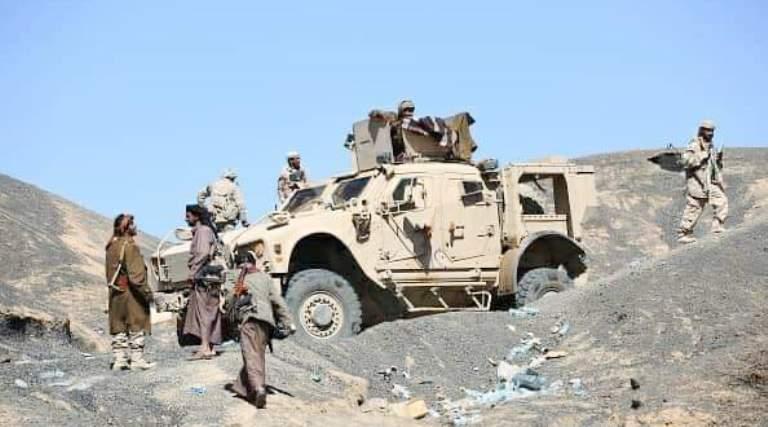 قوات الجيش ورجال القبائل في مأرب