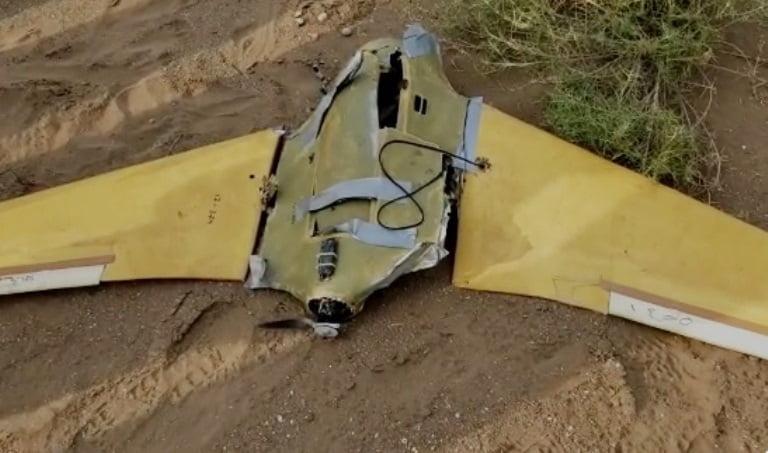 إسقاط طائرة مسيرة تابعة للحوثيين في الحديدة