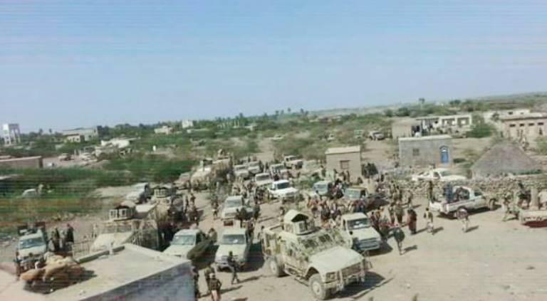 قوات حكومية تدخل مدينة حيس في الحديدة