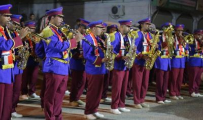 الفرقة الموسيقية العسكرية في مأرب