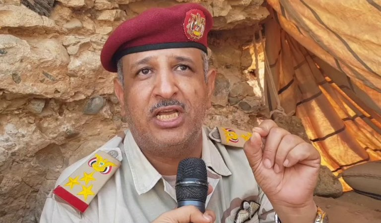 العميد علي محسن الحارثي نائب مدير التوجيه المعنوي