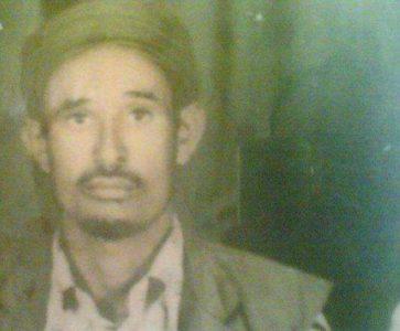 والد عبدالله النهيدي - أحد الثوار في سبتمبر