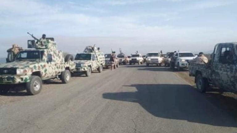قوات الشرعية والانتقالي في أبين