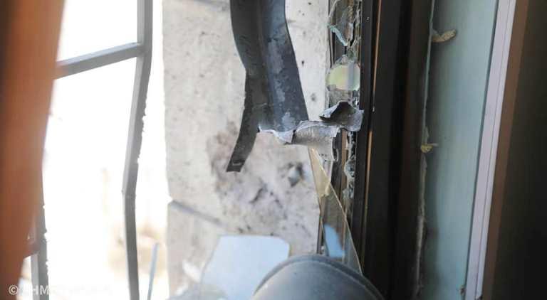 قصف الحوثيين مستشفى الأمل في تعز