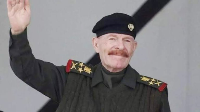 البعث في العراق ينعي عزة ابراهيم الدوري: بأعلى قمم المجد