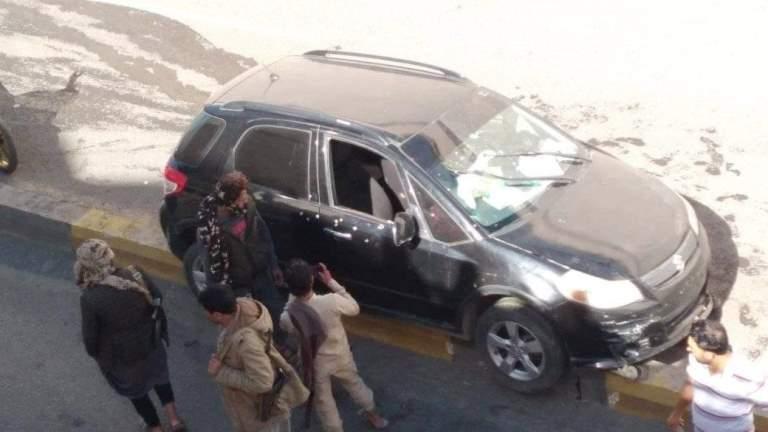 حادثة اغتيال حسن زيد أمين عام حزب الحق في صنعاء