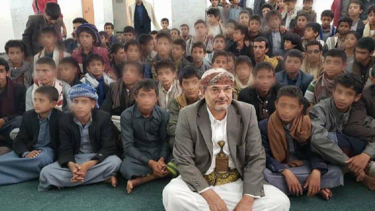 أطفال اليمن تحت تصرف العصابة الحوثية – تلغيم المستقبل