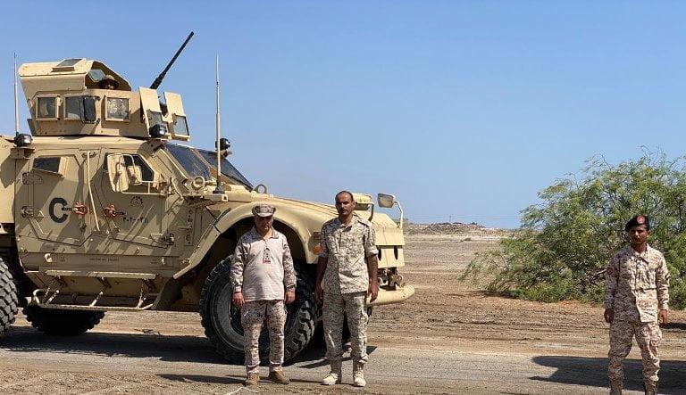 التحالف: عملية فصل القوات في ابين والخروج من عدن تسير بانضباط