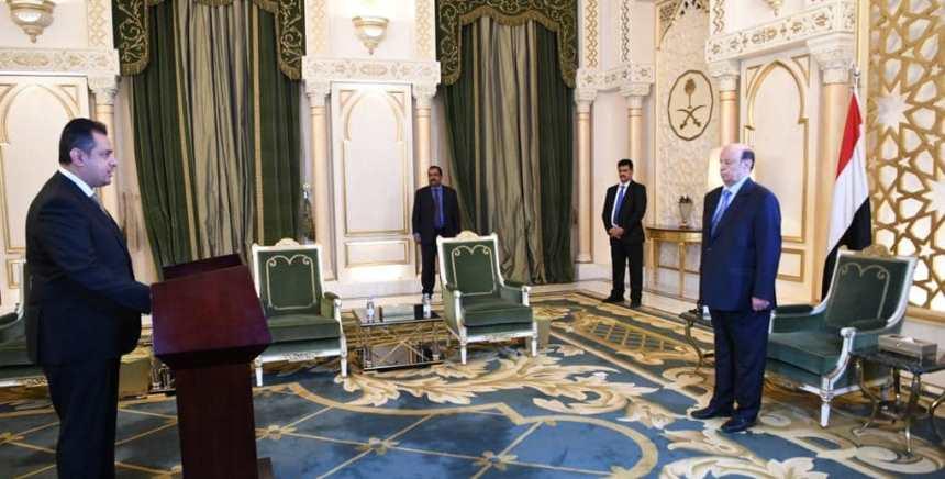 رئيس الحكومة يؤدي اليمين الدستورية أمام الرئيس هاد
