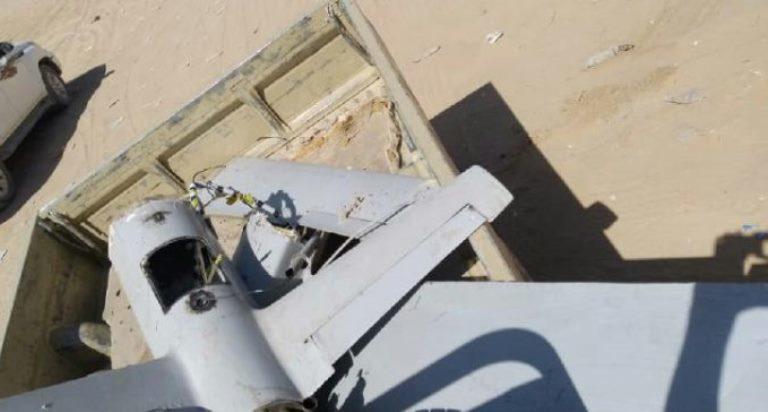 الجيش يسقط طائرة مسيرة للحوثيين في الجوف