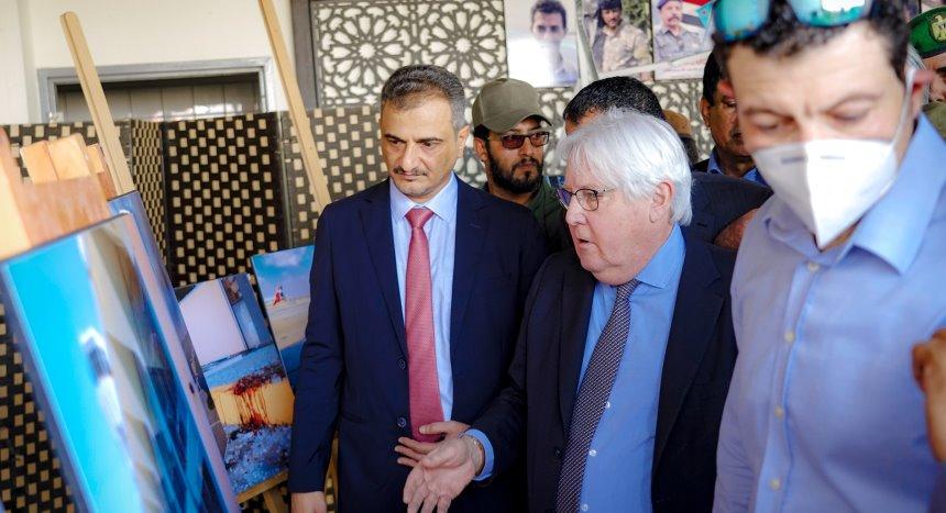 غريفيث بختام زيارة عدن: هجوم المطار اعتداء كارثي له تداعيات سياسية