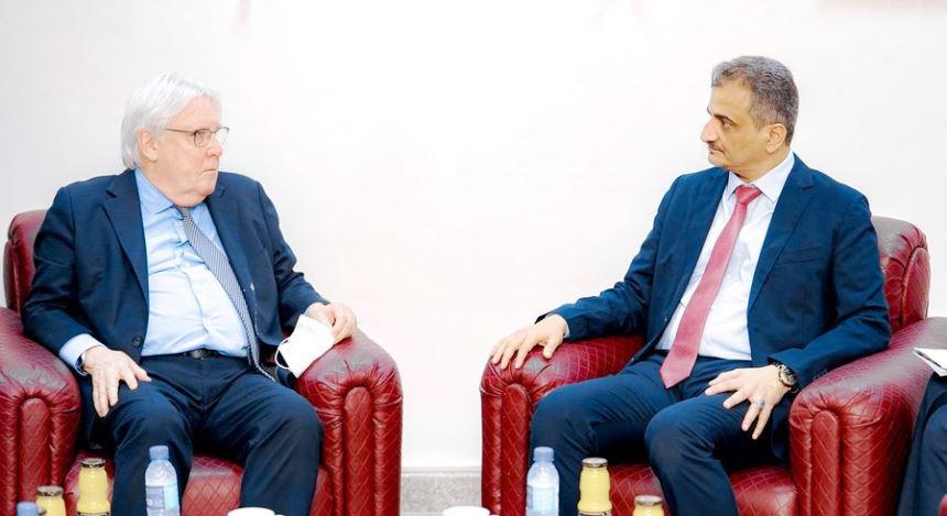 لملس يدعو لزيادة الدعم الأممي.. والمبعوث غريفيث: ولدت في عدن