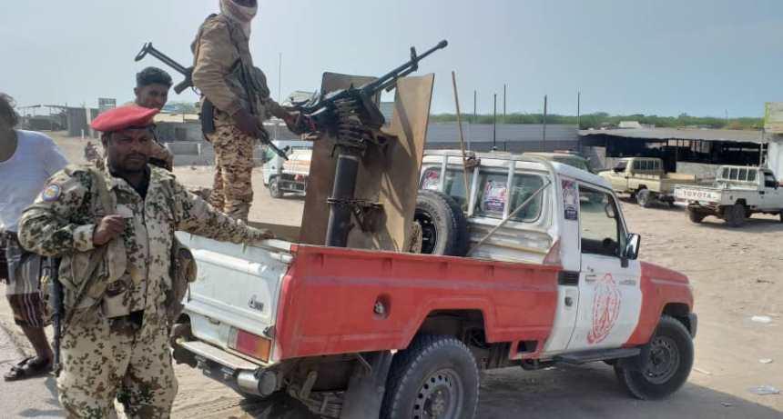 أمن الحديدة والقوات المشتركة ينفذان حملة أمنية في الدريهمي