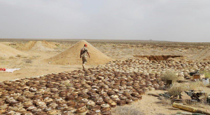 التعامل مع الألغام في اليمن: نزع أكثر من 689 ألفاً والتهديد مستمر