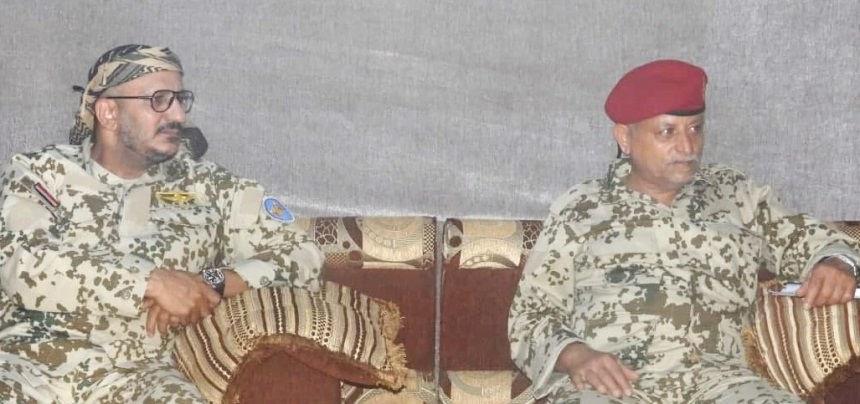 طارق صالح باستقبال وفد المشتركة إلى مأرب: الرسالة جبهة واحدة