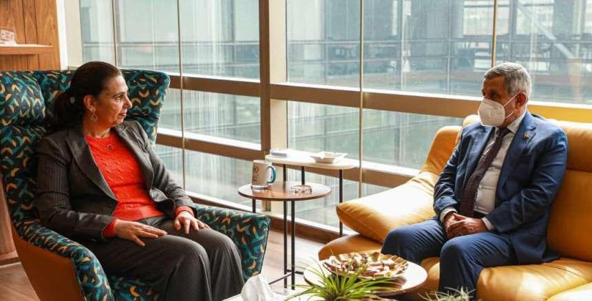 السفير الدعيس لمسؤولة أممية: الحوثيون ردوا على دعوات السلام بالتصعيد