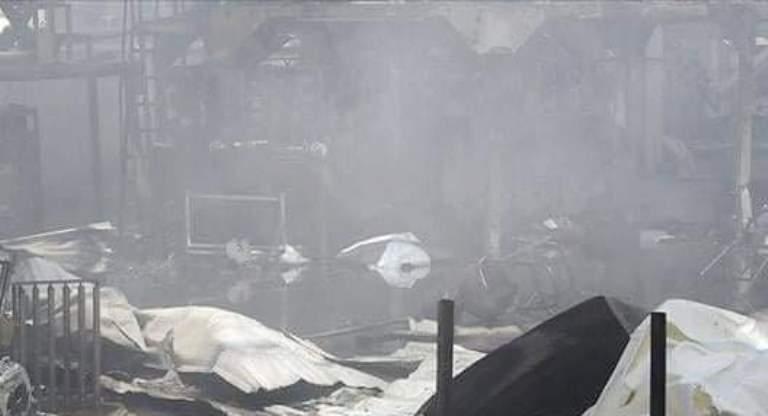 مواطنة: الحوثيون ألقوا مقذوفات تسببت بحرق عشرات المهاجرين في صنعاء