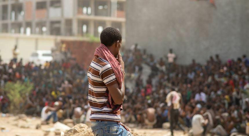 قناة ألمانية: حريق مركز احتجاز مهاجرين أفارقة في صنعاء جريمة مروعة