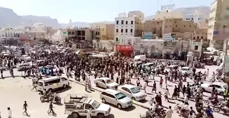 احتجاجات سيئون: بيانات مؤتمر حضرموت الجامع والانتقالي واللجنة الأمنية