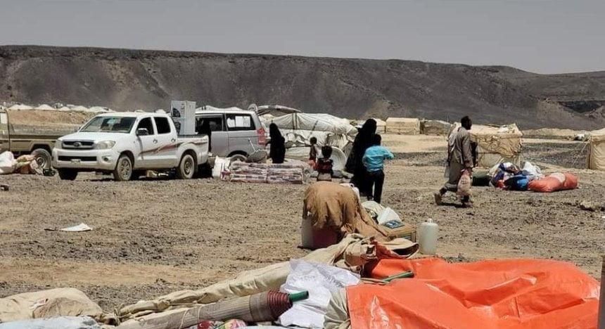 قتيل وجرحى بصاروخ حوثي في مأرب والحكومة: كارثة نزوح جديدة