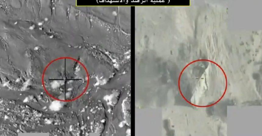 بالفيديو- التحالف يستهدف منصة صاروخ باليستي جهزه الحوثيون لقصف مأرب