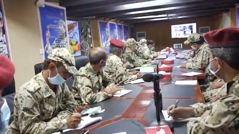 نص وفيديو كلمة طارق صالح لقادة المقاومة: سلاحنا حتى تحرير صنعاء