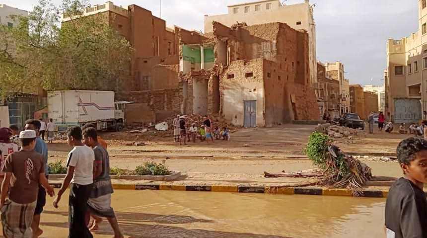مؤتمر حضرموت الجامع يحيي جهود مواجهة كارثة سيول تريم