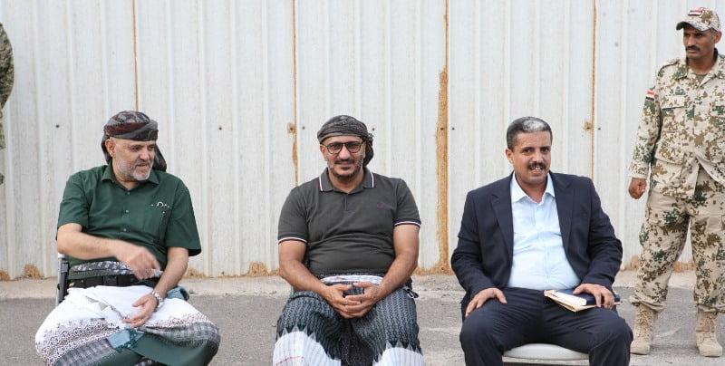 بالفيديو لقاء طارق صالح مع محافظ تعز: تنسيق مشترك ومتكامل