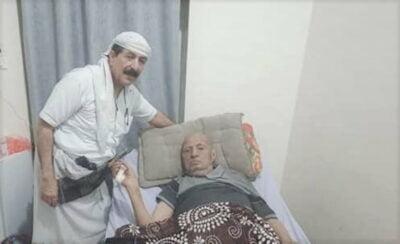 اللواء حسين العواضي مع اللواء أحمد صالح الصوفي