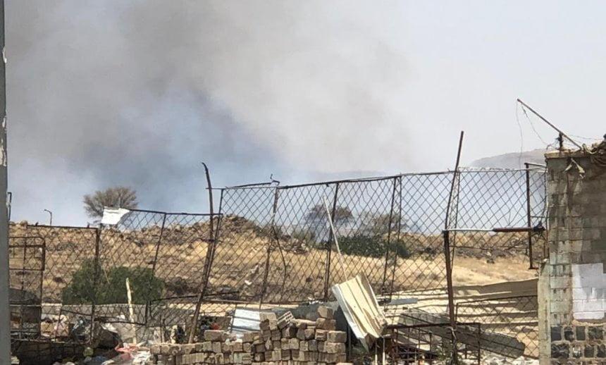 انفجارات في صنعاء والتحالف ينفي تنفيذ غارات جوية