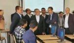 القيادي الإيراني حسن ايرلو يزور جامعة صنعاء