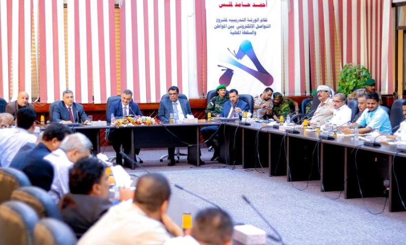 محافظ عدن يشدد على إنجاح الحملة الأمنية لمنع السلاح غير المرخص