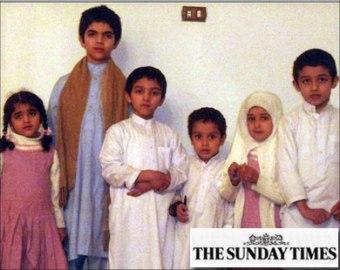 وصول عائلة أسامة لادن السعودية